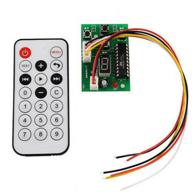 Stepper Motor Driver Controller Board Speed Adjustable with Remote Control F21