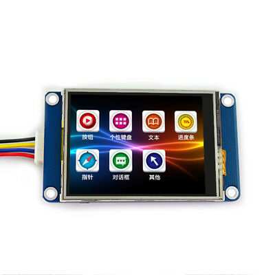 "2.4"" UART HMI 320x240 Touch Screen Resistant Module LCD Display For Arduino TFT"