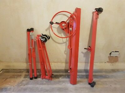 11ft Lift Panel Hoist Plaster Board/Dry Wall Lifter Tool