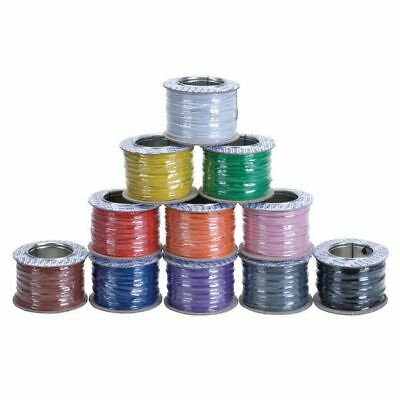 16/0.2mm Red Equipment Wire 100m Reel