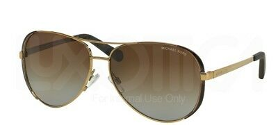 NEW Michael Kors 5004 Chelsea Sunglasses 1014T5 Brown 100% AUTHENTIC