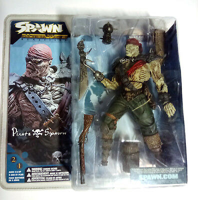 SPAWN - Alternate Realities PIRATE SPAWN - Series 21 - McFarlane Toys OVP 2002!
