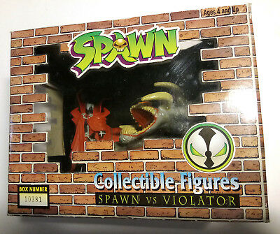 SPAWN - Collectible Figures - SPAWN vs VIOLATOR - McFarlane TODD Toys OVP 1994!!