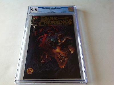 Dark Crossings 1 Cgc 9.8 Dynamic Forces Variant Witchblade Tomb Raider Image