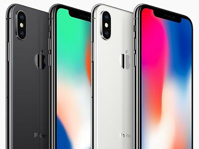 Apple iPhone X  64GB 256GB * Space Grau / Black - Silber / Silver * NEU Händler