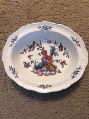 """9"""" Oval Vegetable Bowl in Williamsburg Potpourri by Wedgwood"""