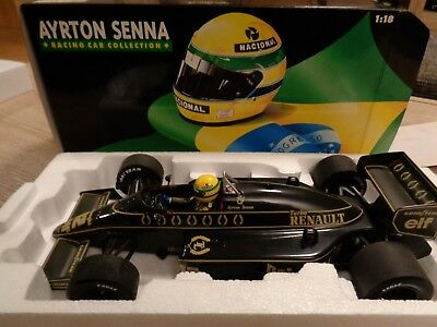 1:18 Minichamps Ayrton Senna Racing Collection 1986 Lotus Renault 98T #12 in OVP