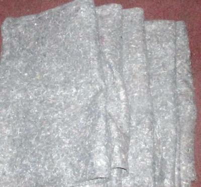 Assorted Uhaul Furniture Pads Moving Blankets ( 3 Sizes) Sold Individually Used