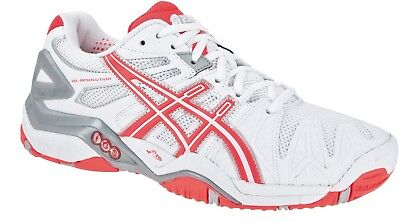 Womens asics Gel Resolution 5 Tennis Court Shoes Trainers Size UK 4  Euro 37