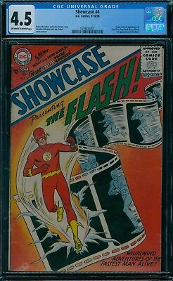 Showcase 4 CGC 4.5  1st Flash