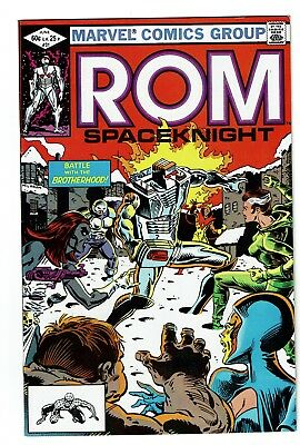 Rom 31, VF 8.0, 2nd appearance of Rogue; Mystique, Destiny