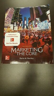 Marketing the core by kerin hartley 6th edition brand new 3999 marketing the core by kerin hartley 6th edition brand new fandeluxe Images