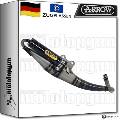 Arrow Komplettanlage Extreme Carby Carbon Kymco People 2010 10 2011 11 2012 12