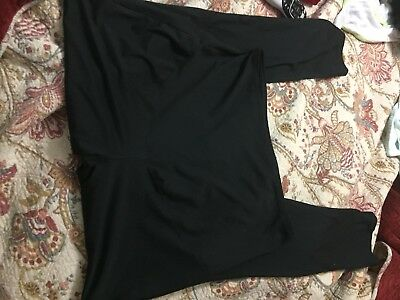Black Isabel full panel Maternity Leggings Size Xl EUC