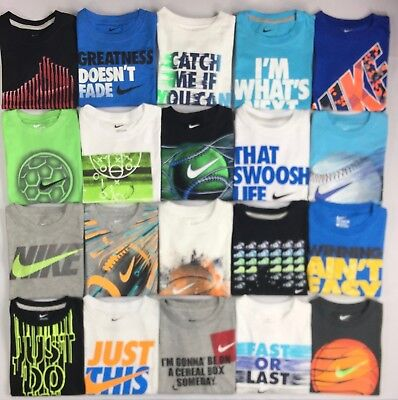 Boy's Youth Nike Cotton T-Shirt