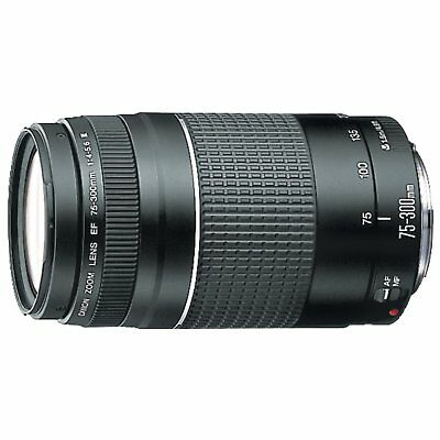 CANON® EF 75-300mm f/4-5.6 III Telephoto Zoom Lens for Canon SLR Cameras