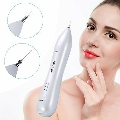 SKINOSM Mole Removal Pen Electric Body & Facial Skin Tag Freckle Removal Kit at
