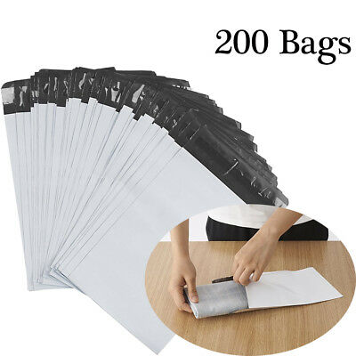 6x9 Poly Mailers 200 Envelopes Shipping Postal Bags 2.5 Mil Self Sealing Plastic