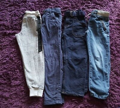 Boys Next Nutmeg & More Trousers Bundle Sizes 7-8 Years Great Condition!