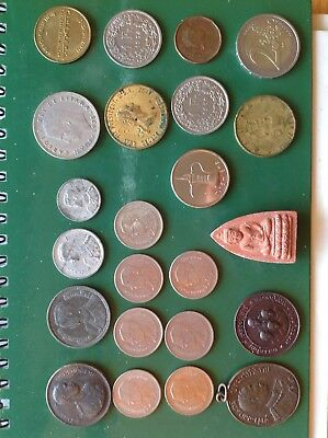 Siam Thailand & World Coins . See The Photos.