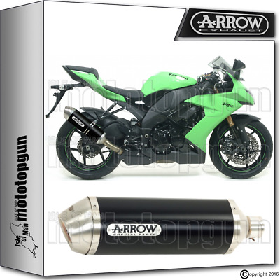 Arrow Muffler Race-Tech Aluminium Dark Hom Kawasaki Zx-10R 2008 08 2009 09