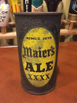 Maier's Ale Flat Top Beer Can, RARE