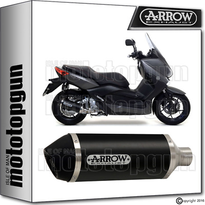 Arrow Exhaust Urban Aluminium Black Hom Yamaha X-Max 250 2009 09 2010 10 2011 11