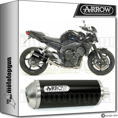 Arrow Muffler Maxi Race-Tech Aluminium Dark Hom Yamaha Fz1 2006 06 2007 07