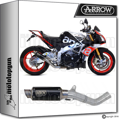 Arrow Kit Muffler Gp-2 Dark Hom Aprilia Tuono V4 1100 Rr Factory 2016 16