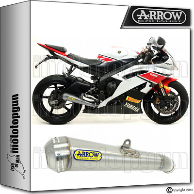 Arrow Exhaust Pro-Race Chrom Hom Yamaha Yzf 600-R6 2015 15 2016 16