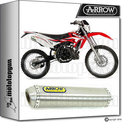 Arrow Exhaust Mini-Thunder Titanium Hom Beta Rr 50 Enduro 2009 09 2010 10