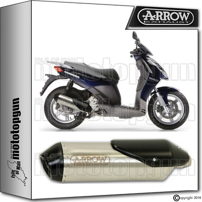 Arrow Muffler Reflex-2 Chrom Hom Aprilia Sport-City 250 2006 06 2007 07 2008 08