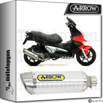 Arrow Exhaust Thunder Aluminium Hom Gilera Runner Sp 125 2006 06 2007 07 2008 08