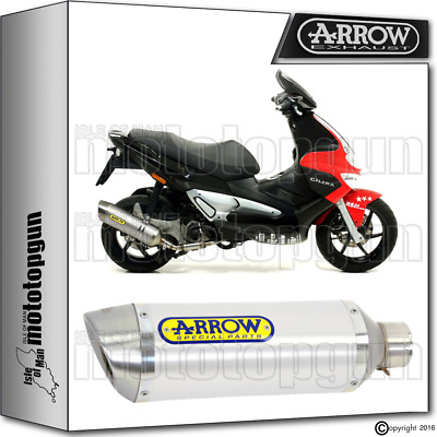 Arrow Exhaust Thunder Aluminium Hom Gilera Runner Vxr 200 2006 06 2007 07