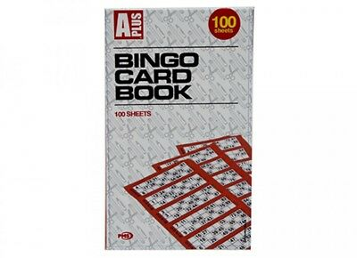 600 Bingo Cards 100 Sheets Book Tickets Pads Security Coded BUY 1 GET 1 20% OFF