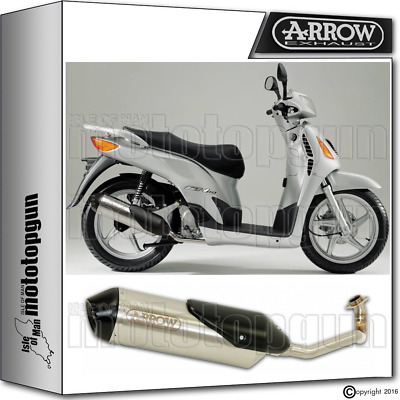Arrow Full System Reflex-2 Chrom Hom Honda Sh 150 2008 08 2009 09 2010 10