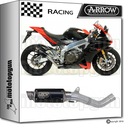 Arrow Kit Muffler Gp2 Stainless Steel Dark Race Aprilia Rsv4 2011 11 2012 12