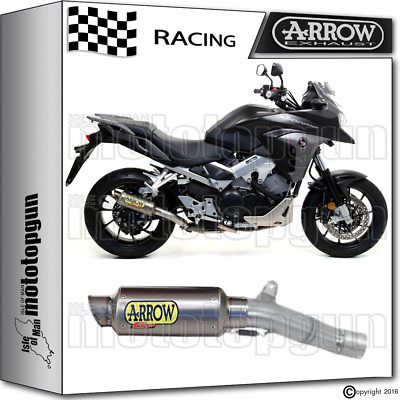 Arrow Kit Muffler Gp2 Titanium Race Honda Crossrunner 800 2015 15