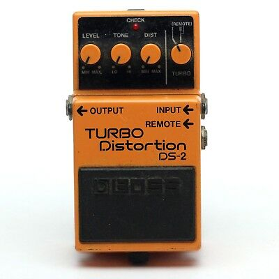 BOSS DS-2 TURBO Distortion Guitar Effect Pedal