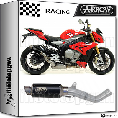 Arrow Kit Muffler Gp-2 Stainless Steel Dark Race Bmw S1000 R 2014 14 2015 15