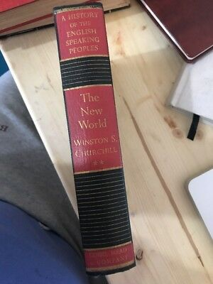 The New World /A History of the English Speaking Peoples by Winston Churchill HB