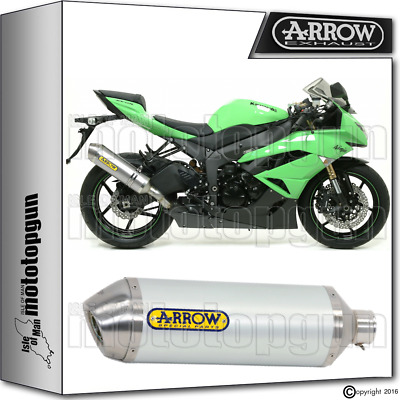 Arrow Muffler Race-Tech Aluminium Hom Kawasaki Zx6R 2012 12 2013 13 2014 14