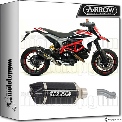 Arrow Kit Exhaust Racetech Carbon Carby Cup Hom Ducati Hyperstrada 2015 15