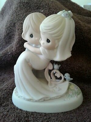 """Preowned 2006 Precious Moments """"To Have and to Hold"""" with box"""
