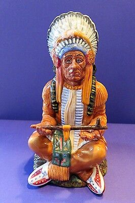Royal Doulton THE CHIEF  Figurine HN 2892 1978 England Native  American  Indian