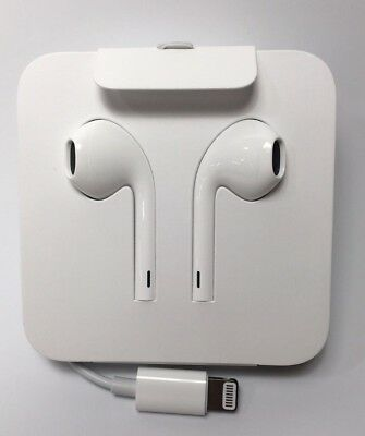 Original Apple Genuine Earbuds Headphones w/ Lightning Connector iPhone X 7/8 +