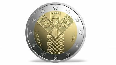 Latvia 2018 2 Euro commemorative coin 100 years of independence Lettland