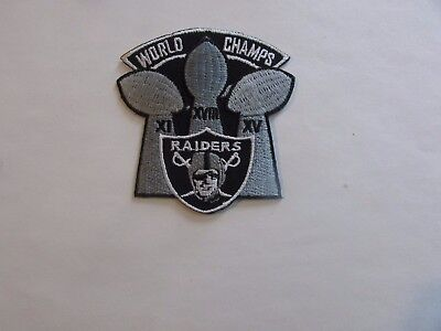 Oakland Raiders Patch - Iron On/Sew On (#2)