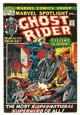 Marvel Spotlight 5   Origin & 1st Ghost Rider