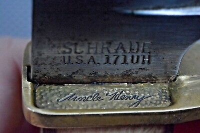 Schrade Usa 171Uh Vintage Fixed Blade Knife